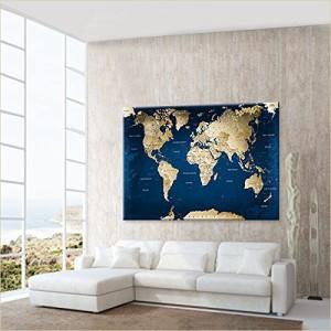 Globus Weltkarte für jede Wand