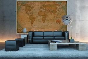 Weltglobus – Testsieger Wanddekoration
