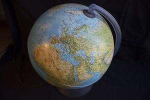 Beleuchteter Globus - darf in keinem Kinderzimmer fehlen!