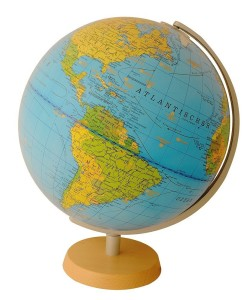 Welt Globus - COLUMBUS Leuchtglobus Jugend