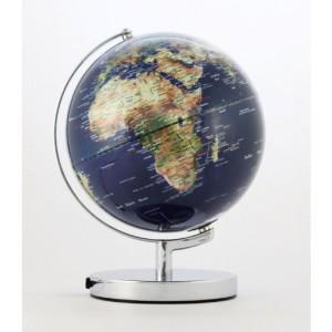 Globus Erde - EMFORM Globus TERRA LIGHT mit Beleuchtung, in versch. Farben Schwarz