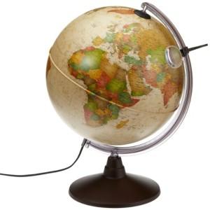 Globus Antik - Geografischer-Globus-Licht