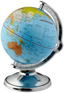 Mini Globus - Spardose Globus Weltkugel drehbar