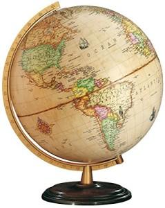 Welt Globus - Columbus Globen, Classic Line, Renaissance Leuchtglobus
