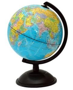 Mini Globus - Idena 569906 Schülerglobus 18 cm mit politischem Kartenbild