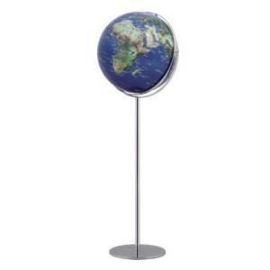 Globus Erde - EMFORM Standglobus APOLLO 17, D 425mm H 1300mm, in verschiedenen Ausführungen Schwarz