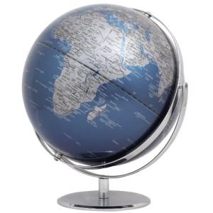 Globus Erde - EMFORM Globus 2-achsig drehbar JURI-Reihe - D 300mm, H 360mm - in versch. Farben PHYSICAL NO 2