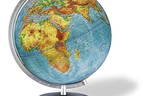 12x15cm Globus Weltkugel Erdkugel Globe Rotierend Lernglobus Weltgugel Erdglobe